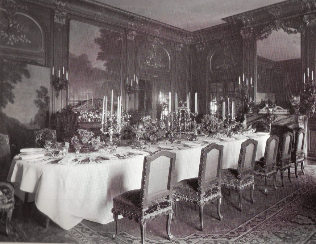 Bellefontaine dining room EHL