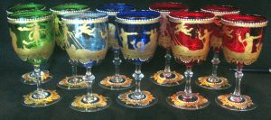 Salviati multicolored_gilt glasses(28)